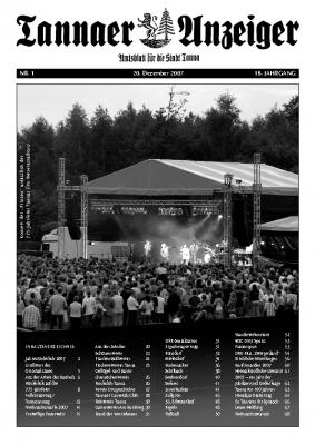 Jahresanzeiger 2007