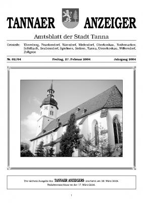 Amtsblatt Februar 2004