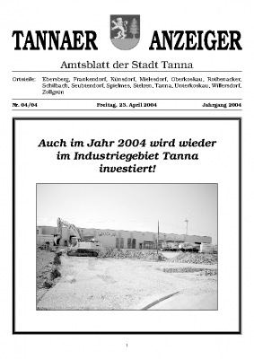 Amtsblatt April 2004