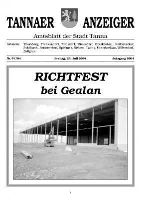 Amtsblatt Juli 2004