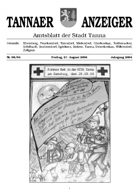 Amtsblatt August 2004