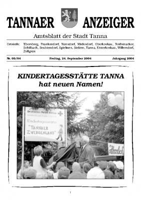 Amtsblatt September 2004