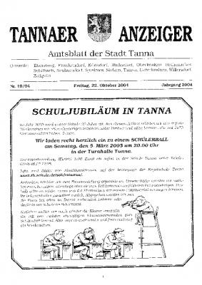 Amtsblatt Oktober 2004