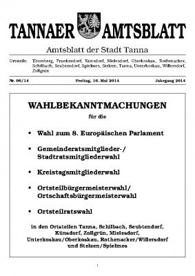Wahl Mai 2014
